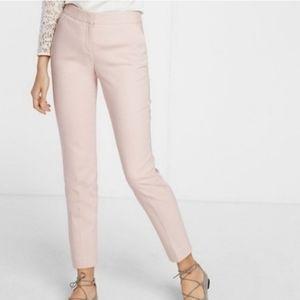 Express columnist light pink ankle pants sz 10